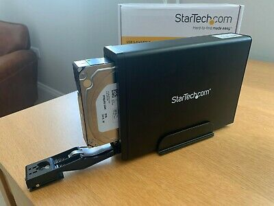 Startech Usb 3.0/sata Hdd Enclosure With Uasp • 29£