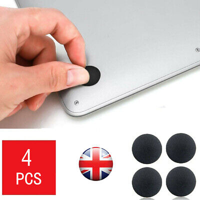 4 X Rubber Feet For MacBook Pro A1278 A1297 A1286 2009 2010 2011 2012 UK Stock • 1.99£