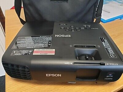 Epson EB-S03 LCD Projector, Black, With Bag, Remote Controller & Lead • 120£