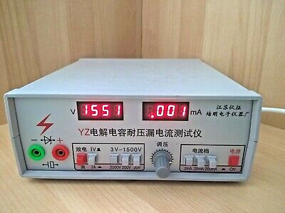 Capacitor Voltage Insulation /leakage Current Meter/tester,hi Fi Quality Sorting • 215£