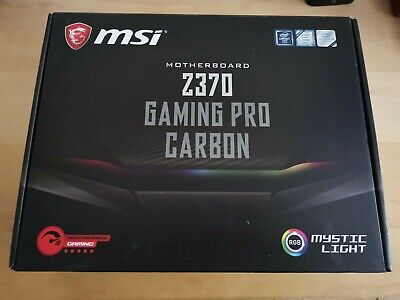 MSI Intel 1151 Socket Z370 Chipset Gaming Pro Carbon D4 ATX Motherboard - Carbon • 44£