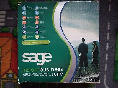 Sage Instant Business Suite CD And All Manuals • 2.99£