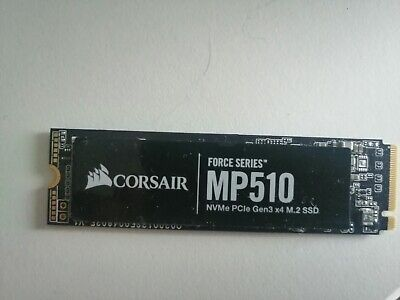 Corsair MP510 M.2-2280 480GB PCI Express 3.0 X4 NVMe Solid State Drive • 40£