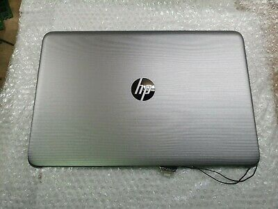 HP 15-ay Series LCD Silver Top Back Cover 854987-001 With Webcam & Cables • 17.95£