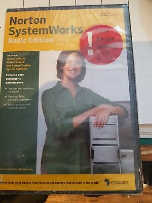 Norton System Works New  Basic Edition 10.0 In Dvd Upg • 9.99£