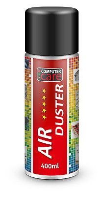 Air Duster Novetly Scented HFC Free Compressed Gas Spray Can - 400 Ml • 5.89£