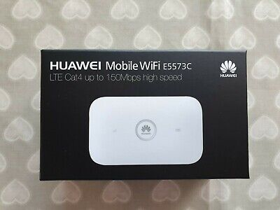 Huawei E5573CS-322 CAT4 150Mbps 4G Hotspot LTE Mobile WiFi (unlocked) • 22£