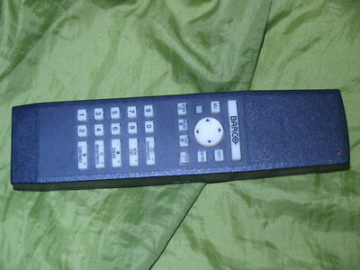 Original Remote Control For ALL Models Of Barco CRT Projector Mk 4 Early LCD Too • 44.99£