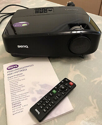 BENQ Digital Projector, MW523, With Cables, Remote Control And Guide. Good. • 90£