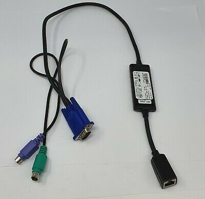 Used Dell 0RF511 PS/2 KVM System Interface POD Module 520-289-512 • 10.99£