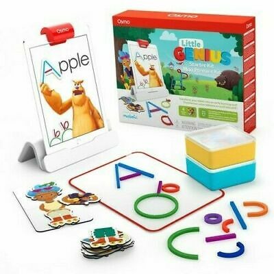 Osmo - Little Genius Starter Kit For IPad - 4 Hands-On Learning Games - NEW • 59.95£