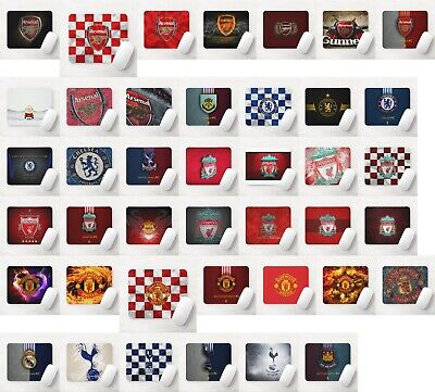 Football Soccer Team Premier League Sports Lover Gift 5mm Thick Mouse Mat Pad • 5.99£