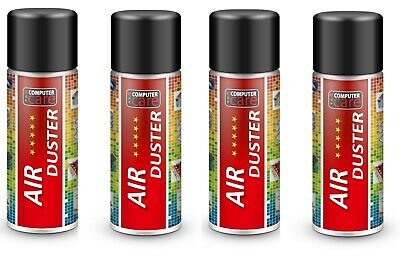 4 X 200ml Compressed Gas / Air Duster Spray Can • 8.59£