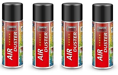 4 X Compressed Gas / Air Duster Spray Can 200 Ml.  • 8.79£