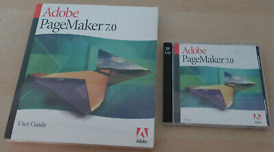 Adobe Pagemaker 7. InDesign 2.0 And Creative Suite 2 For Power PC OSX • 20£