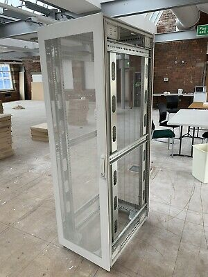 Network Data Comms Server Cabinet No Key But Open • 50£