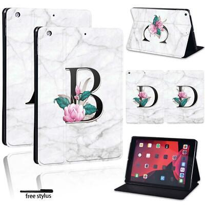 For Apple IPad 8 10.2  2020 (8th Generation) 26 Letters Leather Stand Cover Case • 9.99£