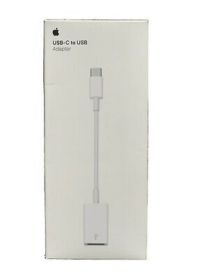 Genuine Apple USB-C To USB Adapter. Boxed • 8£