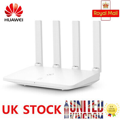 100Mbps HUAWEI Wireless Router Wireless Dual-band WiFi 5GHz Slot • 24.63£