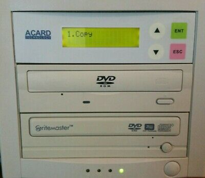 ACARD 1 To 1  DVD Duplicator Great Condition UNTESTED • 45£