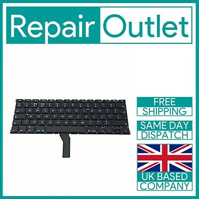 For Apple MacBook Air 13  A1369 A1466 (2011-2012) Replacement Keyboard UK Layout • 12.49£