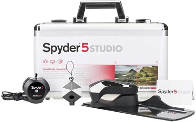 Datacolor Spyder5STUDIO - S5SSR100 Monitor, Camera And Print Calibration • 300£