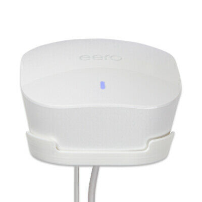 Wall Mount For Amazon Eero Mesh Wi-Fi Router/Extender, White, P3D-LAB ® • 7.97£