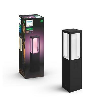 Philips Hue White And Colour Ambience IMPRESS OUTDOOR PEDESTAL LIGHT • 128.29£