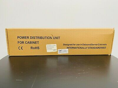 PowerData Technologies VIEC/12/C20 PDU 12 Port Power Distribution Unit For Cab • 64.85£