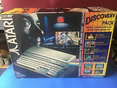 Atari 520 ST FM With Discovery Pack BOX ONLY • 10.50£