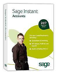 SAGE INSTANT ACCOUNTS - New & Sealed • 9.99£
