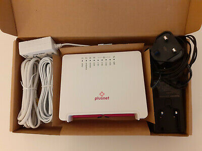 SAGEMCOM 2704N (PlusNet) Router, Boxed, Used • 15£