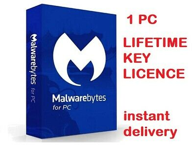 Malwarebytes Premium | 2020 | 1 PC | Lifetime Key ✅ • 7.99£
