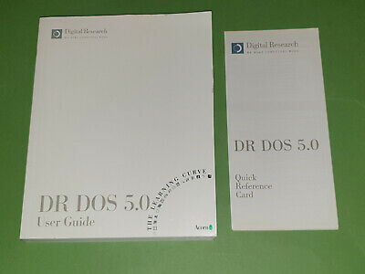 Dr DOS 5.0 User Guide & Quick Reference Card For Acorn Archimedes • 9.95£