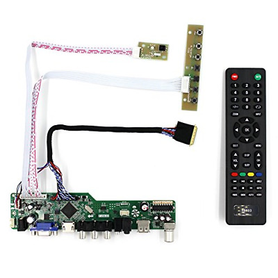 HDMI VGA AV USB LCD Controller Board Work For 17.3  LP173WD1 B173RW01 N17306-L02 • 34.02£