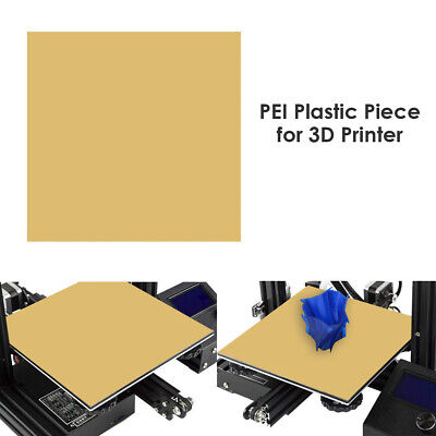 PEI Sheet 305/254/235/157/150/120mm For 3D Printing Build Surface With 3m Tape • 10.39£
