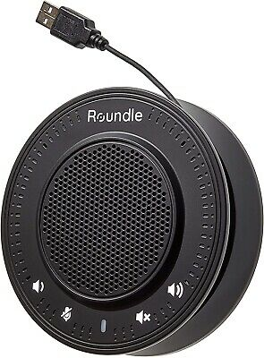 Roundle USB Conference Speaker | Plug & Play | Skype, Zoom Microphone • 45.99£