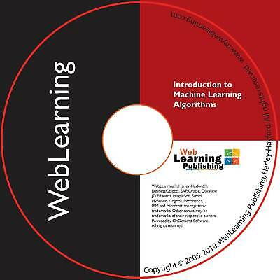 Introduction To Machine Learning Algorithms Self-Study ELearning • 59.99£
