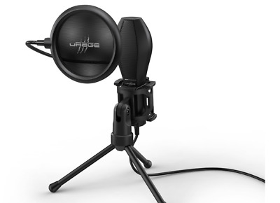 URage  Stream 400 Plus  Gaming Voice-Overs Music Twitch YouTube Microphone • 31.75£
