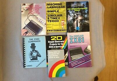 Books For Sinclair ZX80-81 • 8.50£