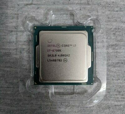 Intel Core I7-6700K 4GHz Quad-Core Processor • 175£