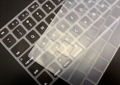 Soft Silicone Laptop Keyboard Cover For Macbook Air 13  A2179 A2337 2019 2020 M1 • 2.99£