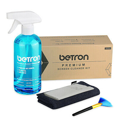 Betron Screen Cleaner Kit Premium Professional Tech Device Cleaner 4 Piece Set • 7.99£