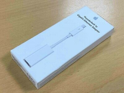 Apple Thunderbolt To Gigabit Ethernet Adapter A1433 - NEW SEALED • 19.99£