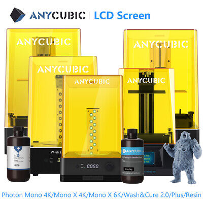 ANYCUBIC Photon Mono / Mono X / SE High Speed Resin LCD 3D Printer + Wash & Cure • 309£