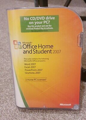 Microsoft Office Home And Student 2007 • 1.50£