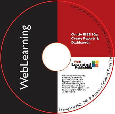 Oracle Business Intelligence 10g:Create Reports And Dashboards Self-Study CBT • 76.99£