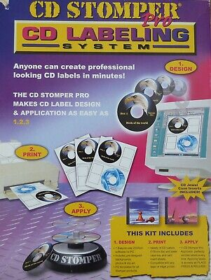CD Stomper Pro: CD Labeling System • 18.49£