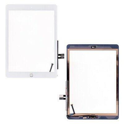 For IPad 6 2018 6th Gen A1893 A1954 Touch Screen Digitizer White • 9.89£