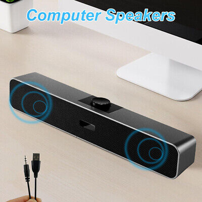 Creative Stage Air Compact Under-monitor Soundbar For Computer BT/AUX-in/USB • 18.99£